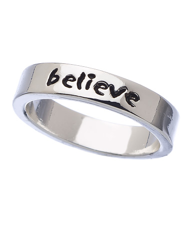 "THE EDIT — Sometimes You Need a Little Reminder to Just ""Believe"""