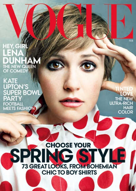 THE BUSINESS SIDE —One More Commentary on VOGUE's Lena Dunham Cover