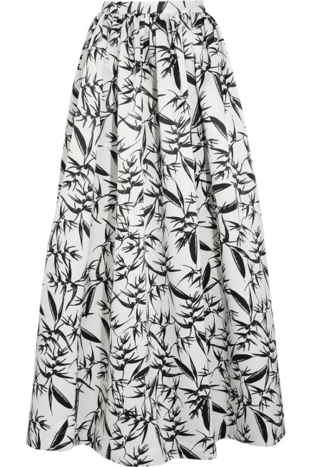 "BUY THIS ONE THING — Alice + Olivia's ""Abella"" Printed Maxi Skirt"