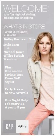 COME JOIN ME — GAP's Styled By Event