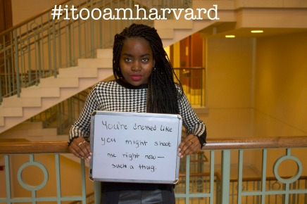 "NEWS — There's More to the ""I, Too, Am Harvard"" Message Than Meets The Eye"