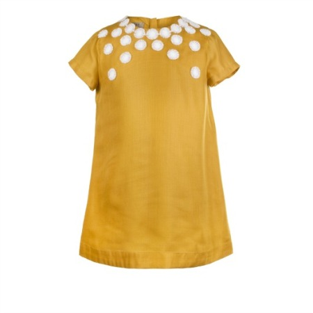 Daisy Chain Dress - Marigold, $108