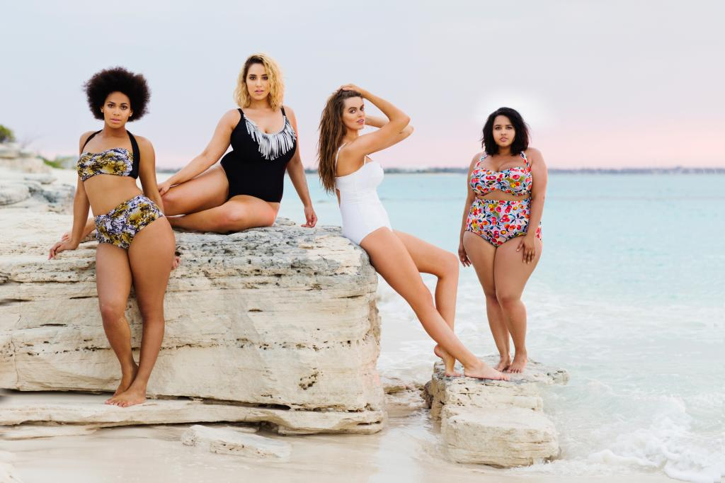 Check out Gabi on the far right getting her model on! Photo: Gabi Fresh