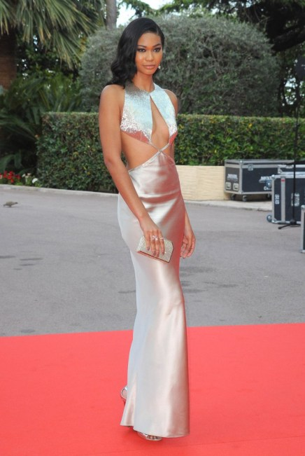 SHE'S A STANDOUT — Chanel Iman Dazzles at the World Music Awards