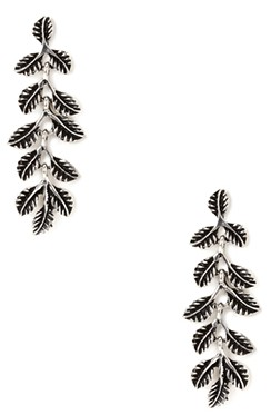 Forever 21 Falling Leaves Drop Earrings