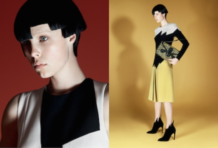 Bottega Veneta Casts Its Newest Face: Edie Campbell