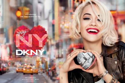 """NEWS —Rita Ora is the New Face of """"DKNY My NY,"""" Donna Karan's LatestFragrance"""