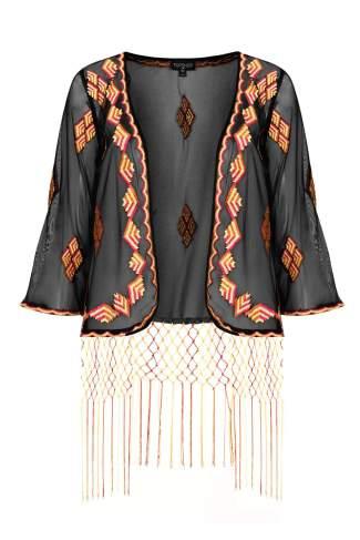 Folk Fringe Kimono