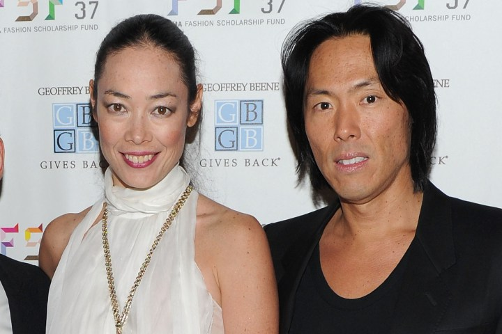 Cecilia Dean and Stephan Gan. Photo: Page Six