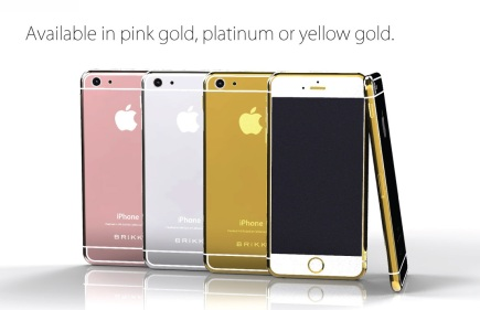 Diamonds Are an iPhone's Best Friend? Brikk Introduces a Luxury Line of iPhone 6s