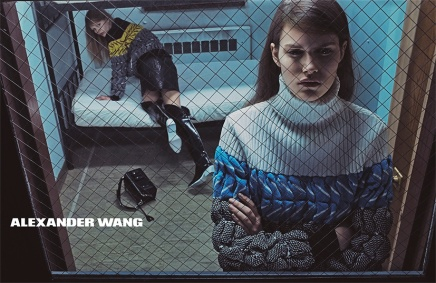 "See Alexander Wang's ""Survival Mode""-Inspired Fall Campaign"