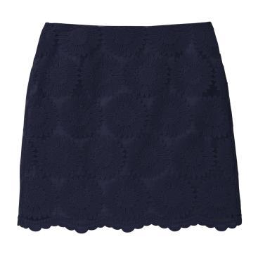 Lace flower skirt