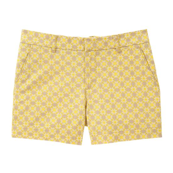 Print Canvas Shorts