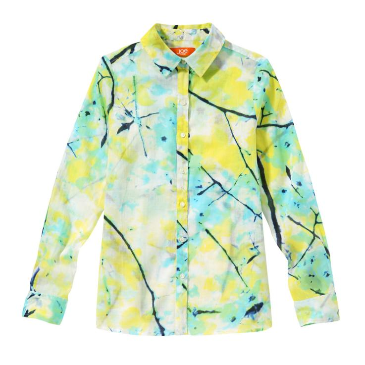 Paint Print Blouse