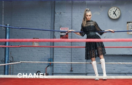 NEWS — Cara Delevingne Stars in ANOTHER Ad Campaign, This Time For Chanel