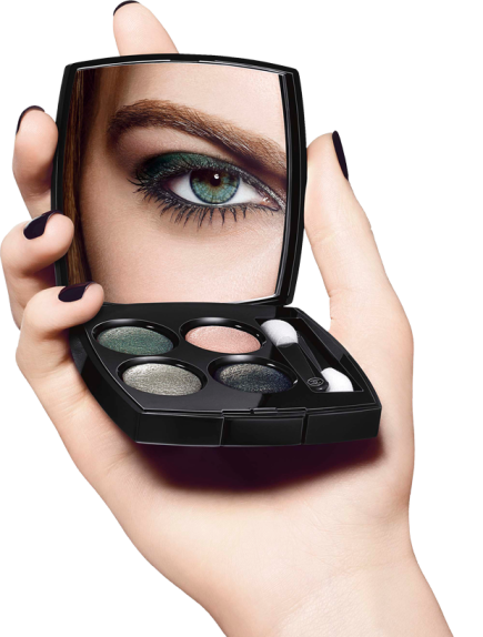 Chanel Launches Eyeshadow Palettes Modeled After Tweed