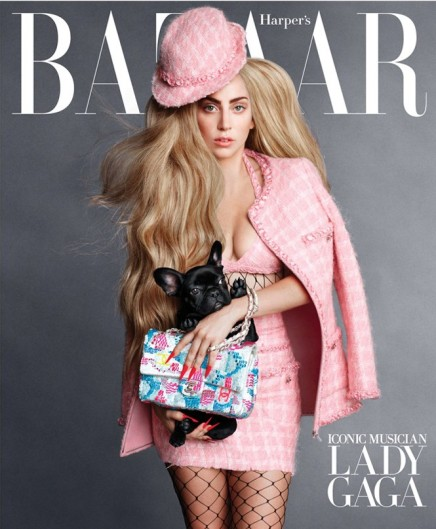 "MAGAZINES — Lady Gaga, Penélope Cruz and Linda Evangelista Cover Harper's Bazaar's ""Iconic"" September Issue"