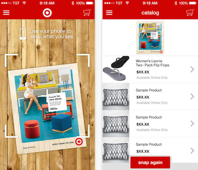 Target Launches Image-Recognition App In the Vein of Amazon's to Attract Young Consumers