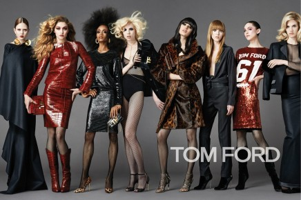 CAMPAIGNS —Tom Ford's Fall Campaign is an Overflow of StandoutStyle