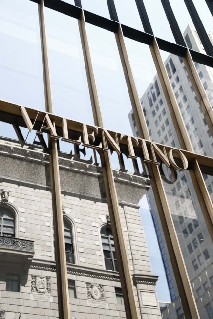 Valentino Prepares to Open Its Fifth Flagship Store, Broadens Its Accessories Line