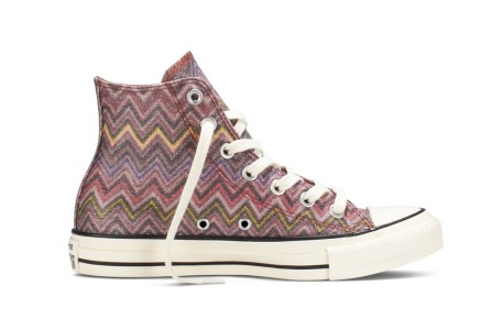 NEWS — Converse Turns to Missoni's Signature Zig-Zag Print In Another Collaboration