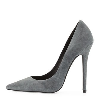 "BUY THIS ONE THING — Jeffrey Campbell's ""Darling"" Suede Pump"