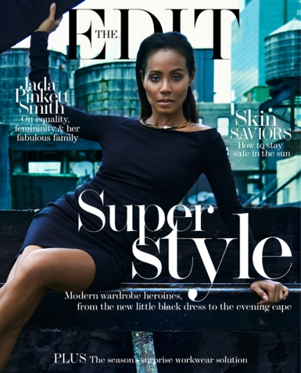NEWS — Jada Pinkett Smith Defends Willow, Discusses Feminism and Dazzles on the Cover of The Edit