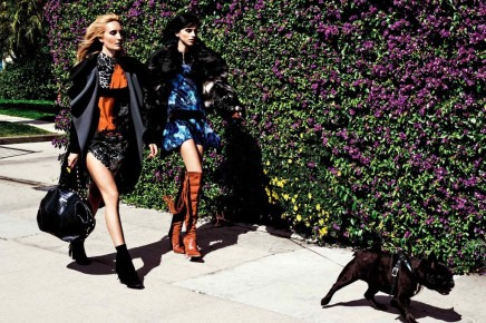 NEWS — Roberto Cavalli Incorporates His Signature Rock-and-Roll Style in Just Cavalli's Fall Campaign