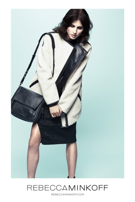 CAMPAIGNS — Langley Fox Hemingway Is the New Face of Rebecca Minkoff's FallLine