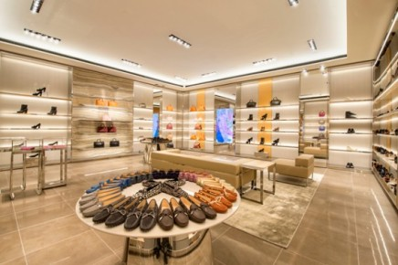 Tod's Steps Away From Shoes and TowardClothes