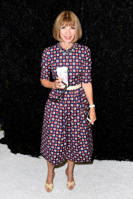 Watch Anna Wintour Admits to Still Carrying a Flip Phone