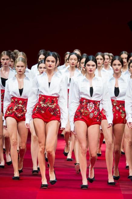 SPRING 2015 — #MFW Day 5 Dispatch: Salvatore Ferragamo, Dolce & Gabbana,Trussardi