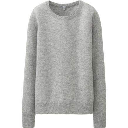 BUY THIS ONE THING — Uniqlo Round Neck Cashmere Sweater