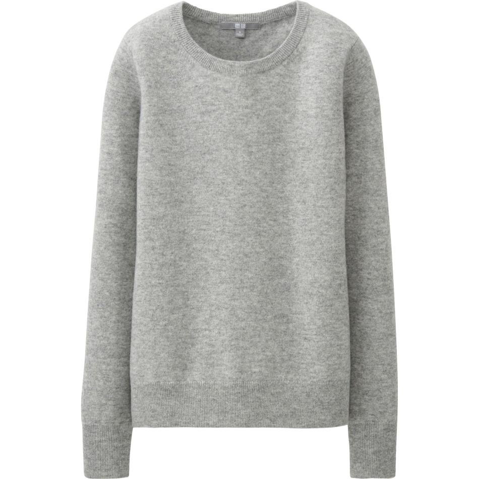 BUY THIS ONE THING — Uniqlo Round Neck CashmereSweater