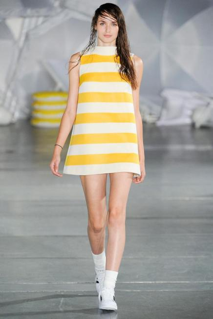 SPRING 2015 —#PFW Day 1 Dispatch: 18 Tempting Looks That Will Make You Want to Skip FallAltogether