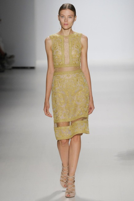 THE REPORT — 3 Things We Love About Tadashi Shoji Spring 2015