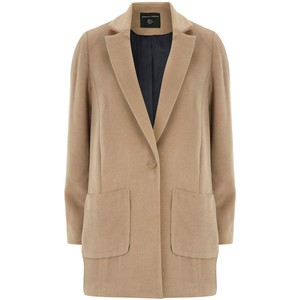 BUY THIS ONE THING — Dorothy Perkins Brushed CrombieCoat