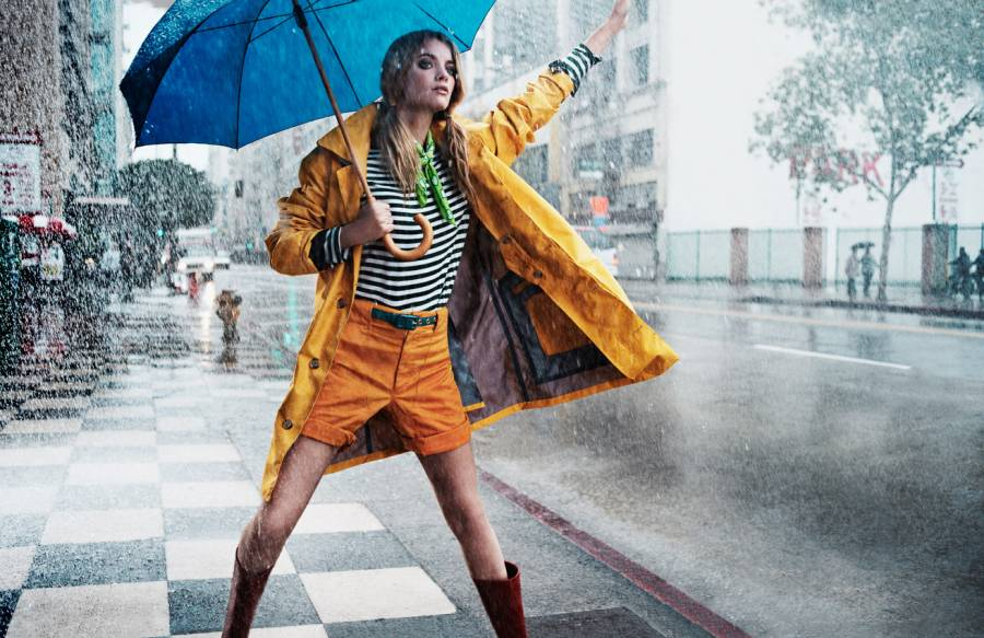 INSTRUCTIONS — What to Wear When It's Raining