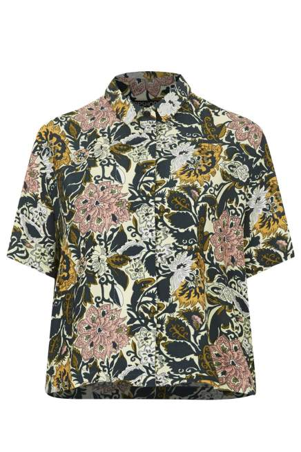 BUY THIS ONE THING — Topshop Floral Print Shirt