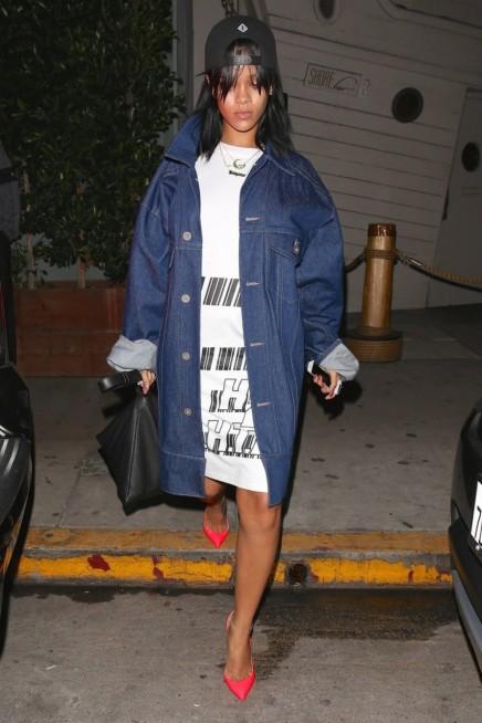 SHE'S A STANDOUT — Rihanna in MatthewDolan