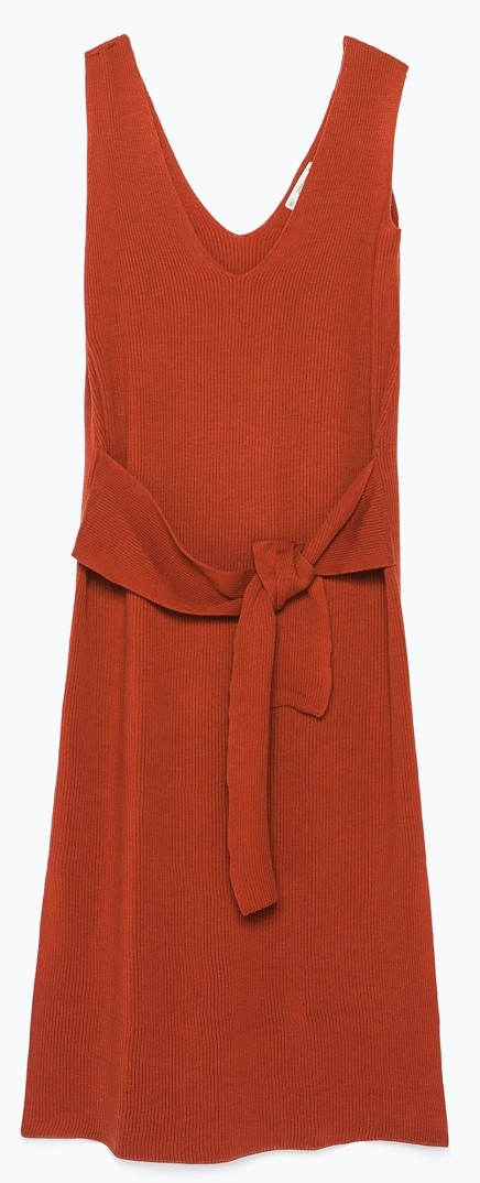 BUY THIS ONE THING: Zara Knot Dress