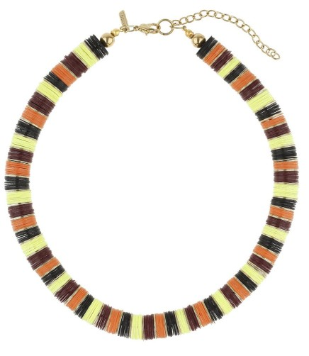 BUY THIS ONE THING: Topshop Color-Block Sequin Pave Necklace