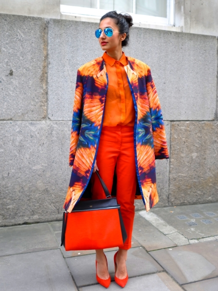 INSTRUCTIONS: How to Mix Red and Orange Like a Street-Style Pro