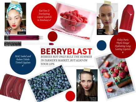 THE LOOK — Berry Blast