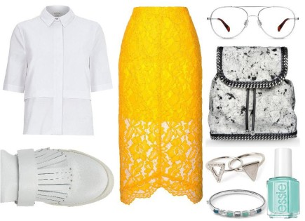 Repeat After Us: Lace Can Work For DaytimeToo