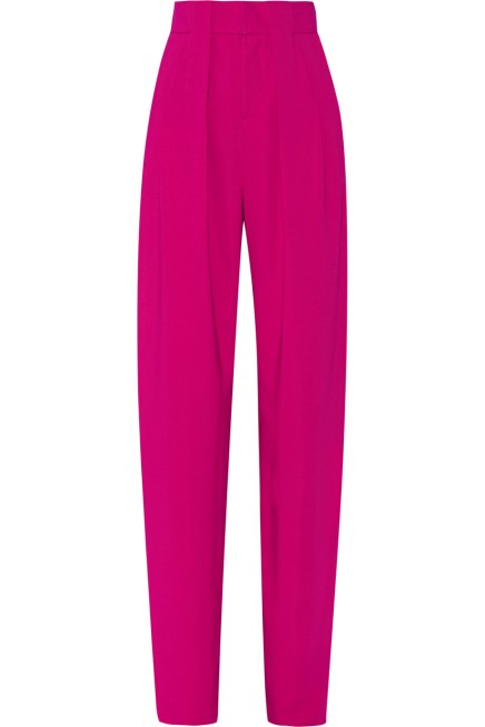 """BUY THIS ONE THING —Issa """"Marigold"""" Stretch-Crepe Wide-LegPants"""