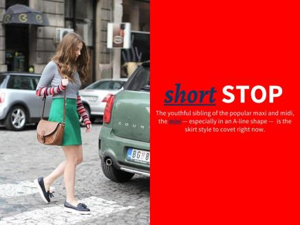 THE EDIT —The Best A-Line MiniSkirts