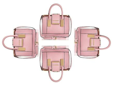 BUY THIS ONE THING —River Island Pink Mini Frame FlapBag