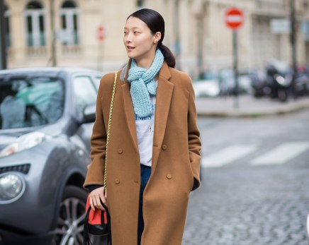 How To Dress Down A Tailored Coat Like A Street-Style Star