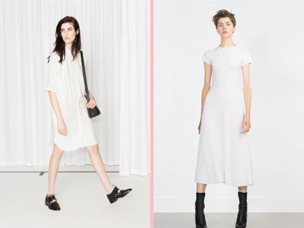 24 No-Fuss Little White Dresses That Are Just As Chic As Your Go-To LBDs